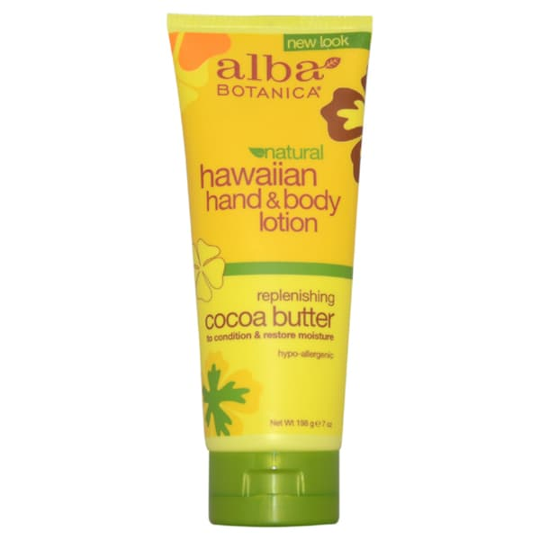 Alba Botanica Hawaiian Cocoa Butter 7-ounce Hand & Body Lotion