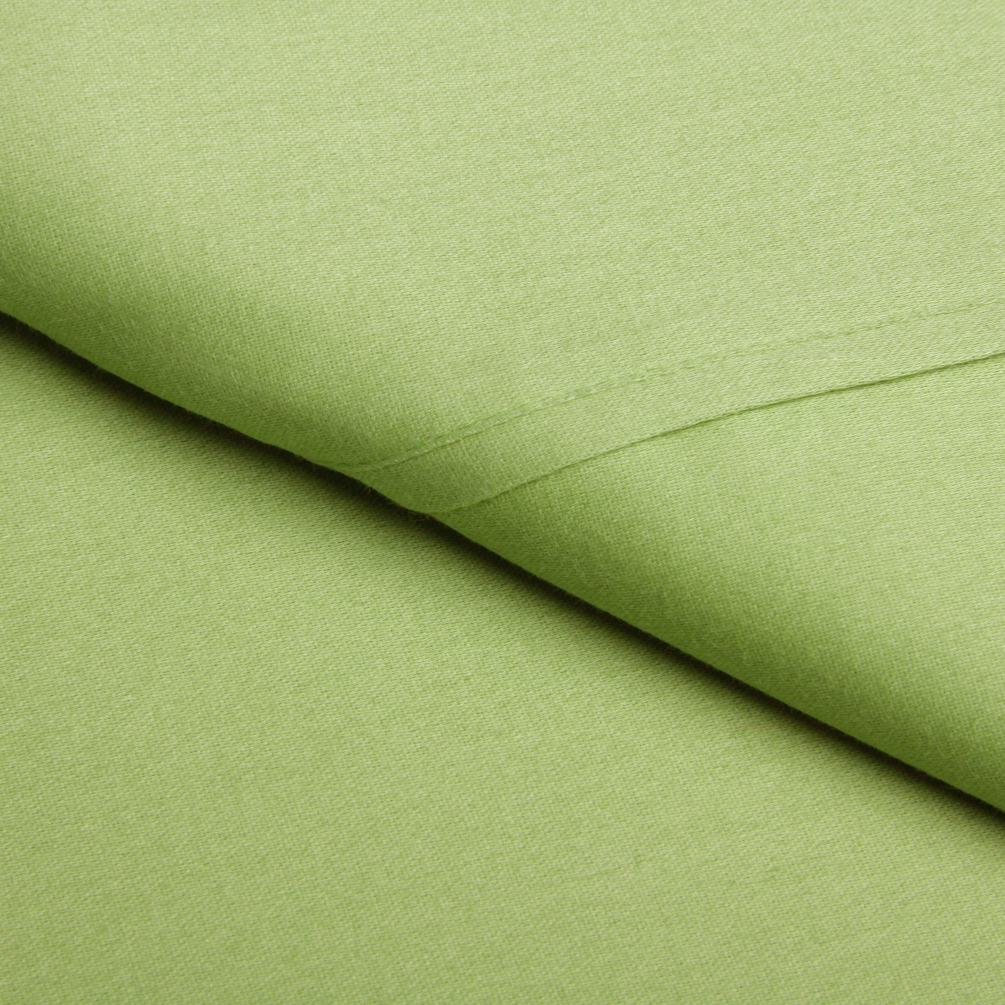 Overstock.com Brights Solid Wrinkle Resistant All Cotton Sheet Set