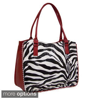 Bueno 'Wild Side' Large Laptop Shoulder Tote