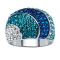 Isabella Collection Austrian Crystal Dome Ring