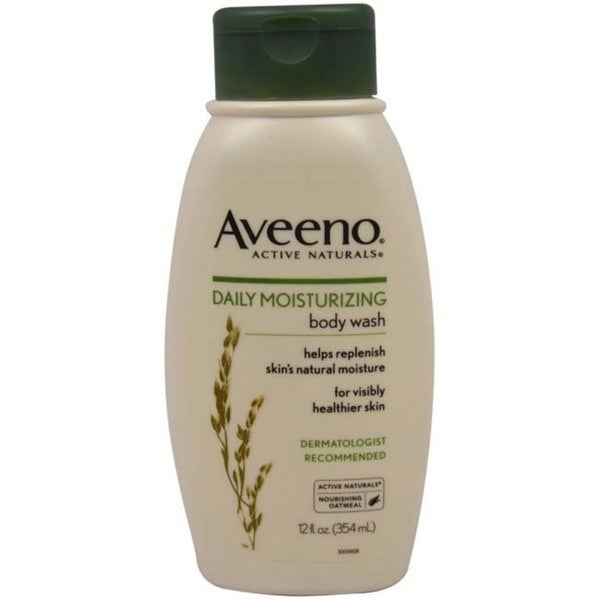 Aveeno Daily Moisturizing 12-ounce Body Wash