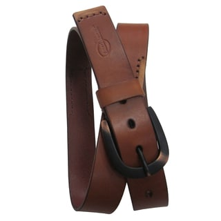 Amerileather Men's Tumbled Leather Belt