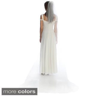 Amour Bridal Single Tier Cathedral Veil