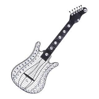 Metal and Acrylic Guitar Wall Decor