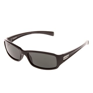 Bolle 'Reno' Shiny Black Sunglasses