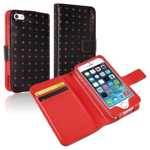 BasAcc Wallet Leather Case for Apple® iPhone 5/ 5S