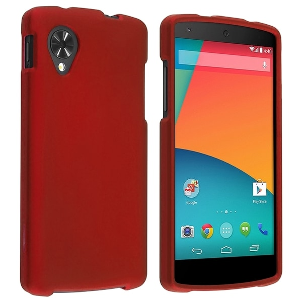 BasAcc Rubber Coated Case for LG Nexus 5 D820/ D821