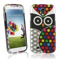 BasAcc Black Owl Rubber Coated Case for Samsung Galaxy S4/ S IV i9500