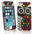 BasAcc Black Owl Rubber Coated Case for Apple iPhone 5/ 5S