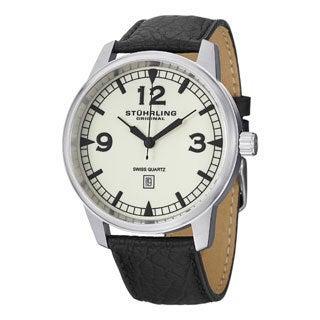 Stuhrling Original Men's Condor Swiss Quartz Strap Watch