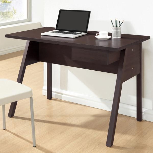 Frommes Dark Brown/ Espresso Modern Home Office Desk - 15907797
