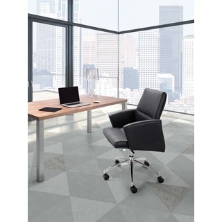 Chieftain Black Low Back Office Chair