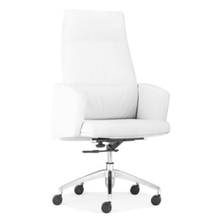 Chieftain White High Back Office Chair