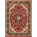 Medallion Traditional Red Rug (2'3 x 3'11)