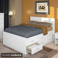 Sonax 2-piece Double Storage Bed Set with Flat Headboard