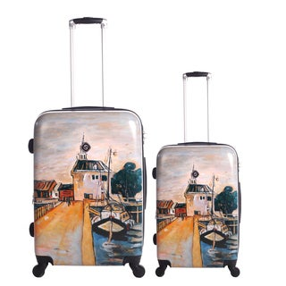 Neocover Summer Docks 2-piece Hardside Spinner Luggage Set