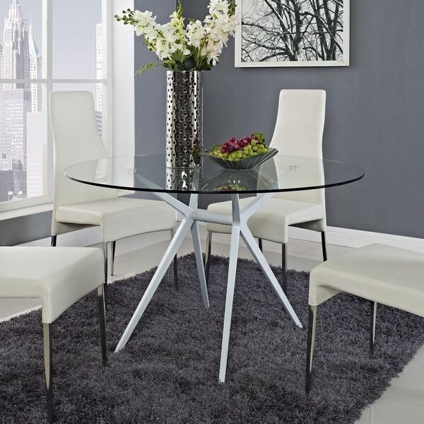 Tilt White Dining Table