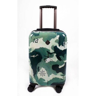 Neocover 'Camo' 20-inch Carry-on Time Hardside Spinner Luggage