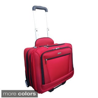 H2T Executive Carry-on Rolling Upright Laptop Briefcase