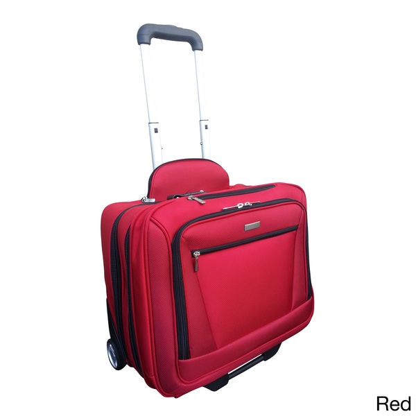 H2T Executive Carry-on Rolling 15-inch Laptop Briefcase