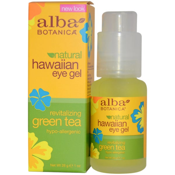 Alba Botanica Hawaiian Green Tea Revitalizing 1-ounce Eye Gel