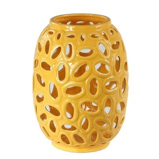 Privilege Canary Yellow Medium Ceramic Vase
