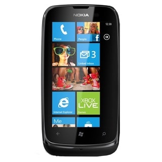 Nokia Lumia 610 RM-835 Unlocked GSM Windows 7.5 OS Black Cell Phone