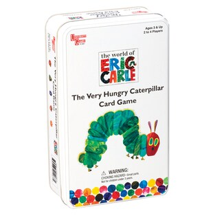 Very Hungry Caterpillar Travel Card Game in a Tin