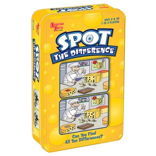 Spot the Difference Travel Game in a Tin
