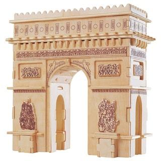 Puzzled Arch De Triomphe Wooden Puzzle