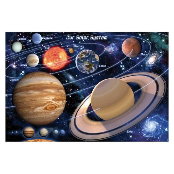 SunsOut Into Space Large Piece Floor Puzzle
