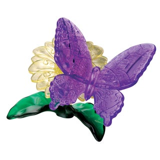 Bepuzzled 3D Crystal Butterfly Puzzle