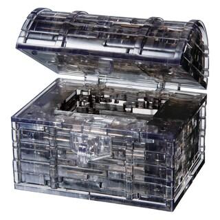 Black Treasure Chest 52-piece 3D Crystal Puzzle