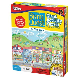 Brain Quest 'On the Town' 48-piece Giant Activity Puzzle