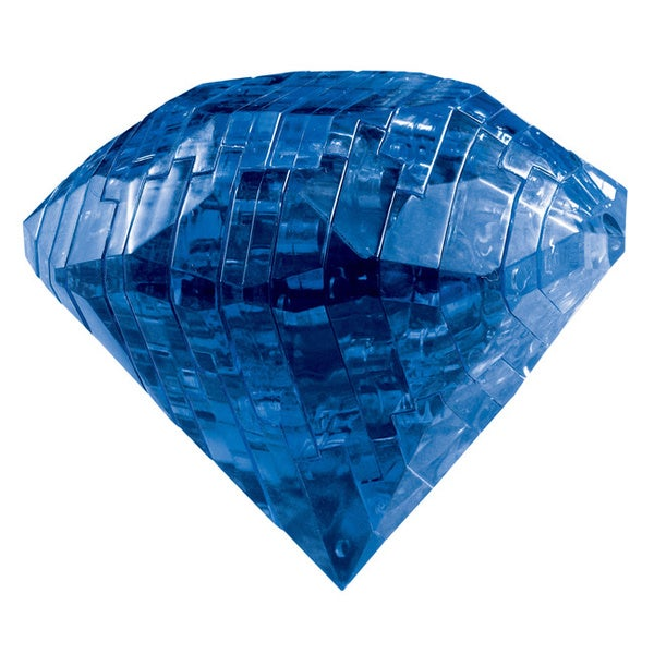 Bepuzzled Sapphire Gem 41-piece 3D Crystal Puzzle 12213456