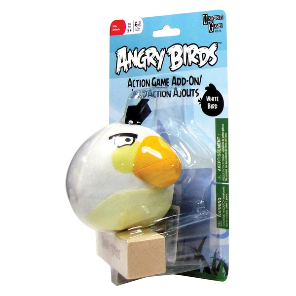 University Games Angry Birds White Bird Add-On Toy