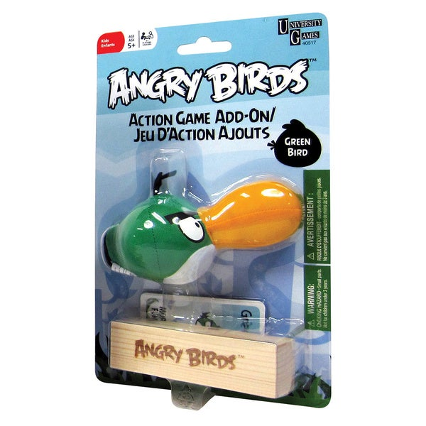 Angry Birds Green Bird Add-On Toy