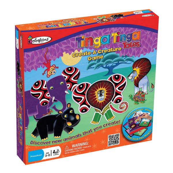 Tinga Tinga Tales Create-A-Creature Colorforms Game