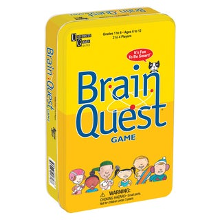 Brain Quest Board Game Tin