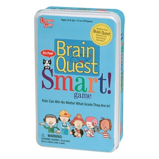 Brain Quest Smart Board Game Tin