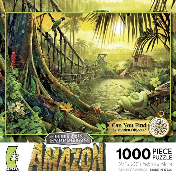 Hidden Expedition: Amazon 1000-piece Puzzle