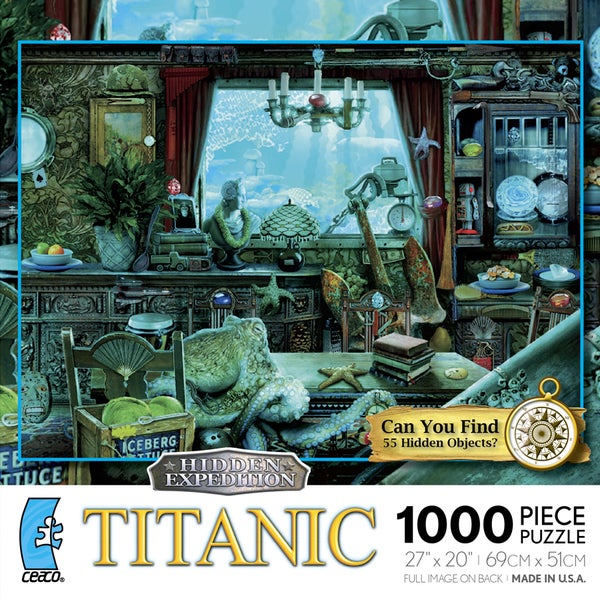 Hidden Expedition: Titanic 1000-piece Puzzle