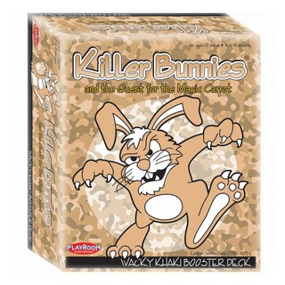 Killer Bunnies and the Quest for the Magic Carrot: Wacky Khaki Booster Deck (10)