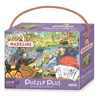 Madeline Puzzle Plus Activity Set