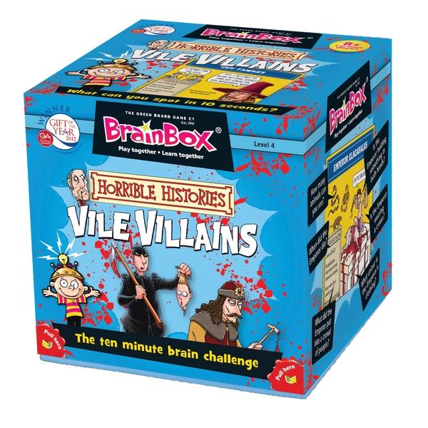 BrainBox - Vile Villains