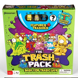 Pressman Toy The Trash Pack: Dash for the Trash Game