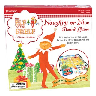 The Elf on the Shelf: Naughty or Nice Board Game