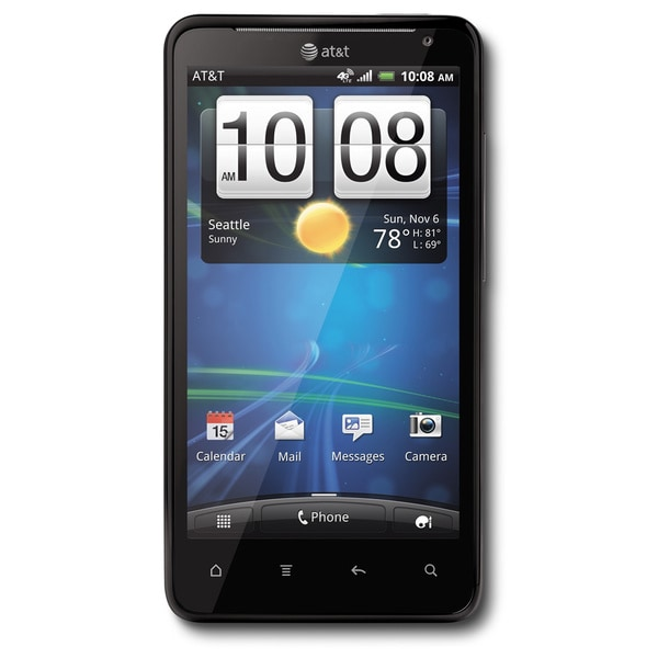 HTC Vivid 4G X710a GSM Unlocked Black Android Phone (Refurbished)