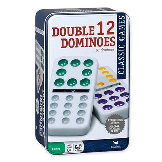 Cardinal Double Twelve Color Dot Dominoes