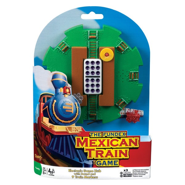 Fundex Games Mexican Train Game Domino Hub 12213780